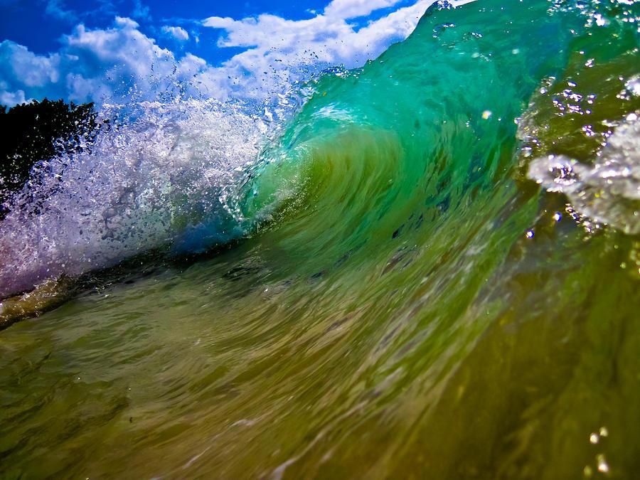 Dominican Republic Photograph - Crashing Wave by Keith Allen