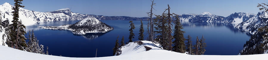 Crater Lake Photograph - Crater Lake by Rick Mann