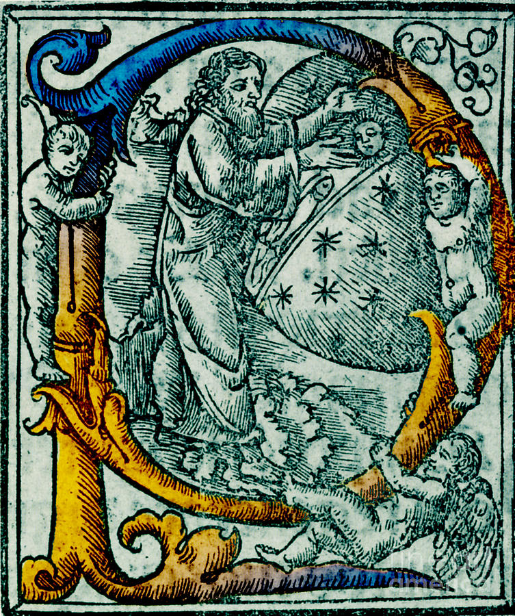 Science Photograph - Creation Giunta Pontificale 1520 by Science Source