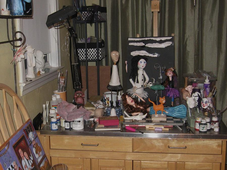 Studio Photograph - Creative Chaos by Cathi Doherty