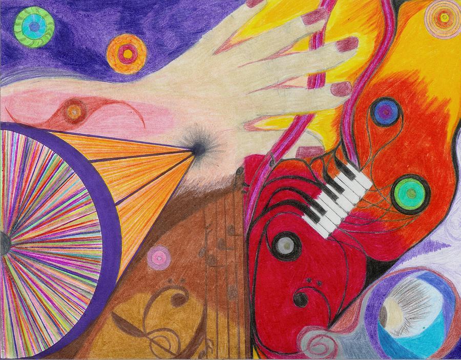 Hand Drawing - Creativity by Aileen Heymach