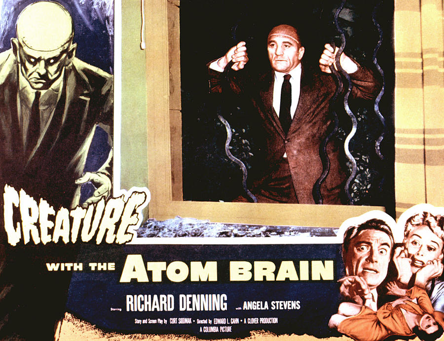 1955 Movies Photograph - Creature With The Atom Brain, The by Everett