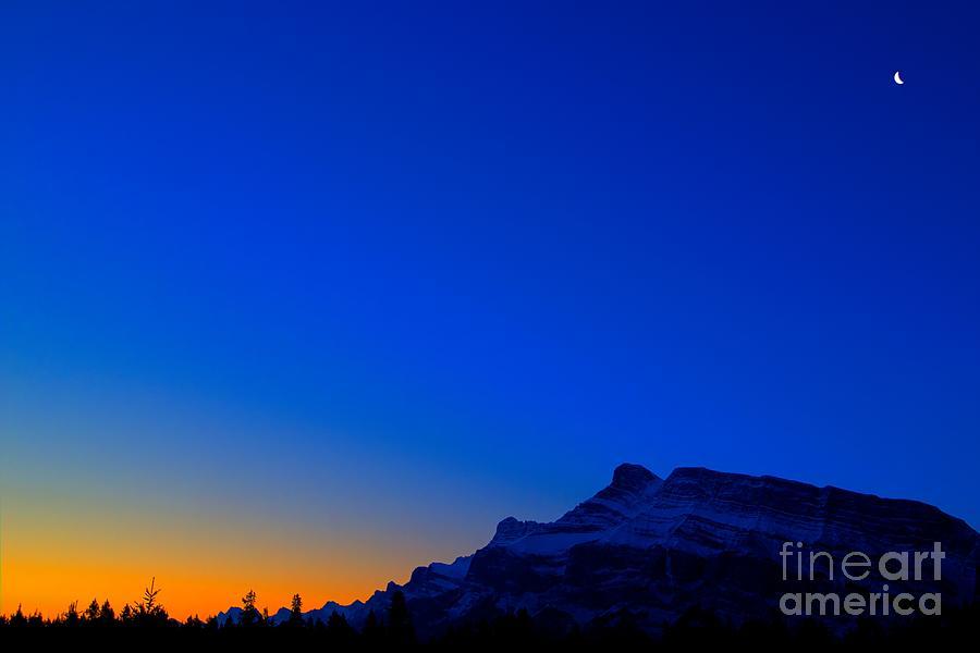 Banff National Park Photograph - Crescent Blues by James Anderson