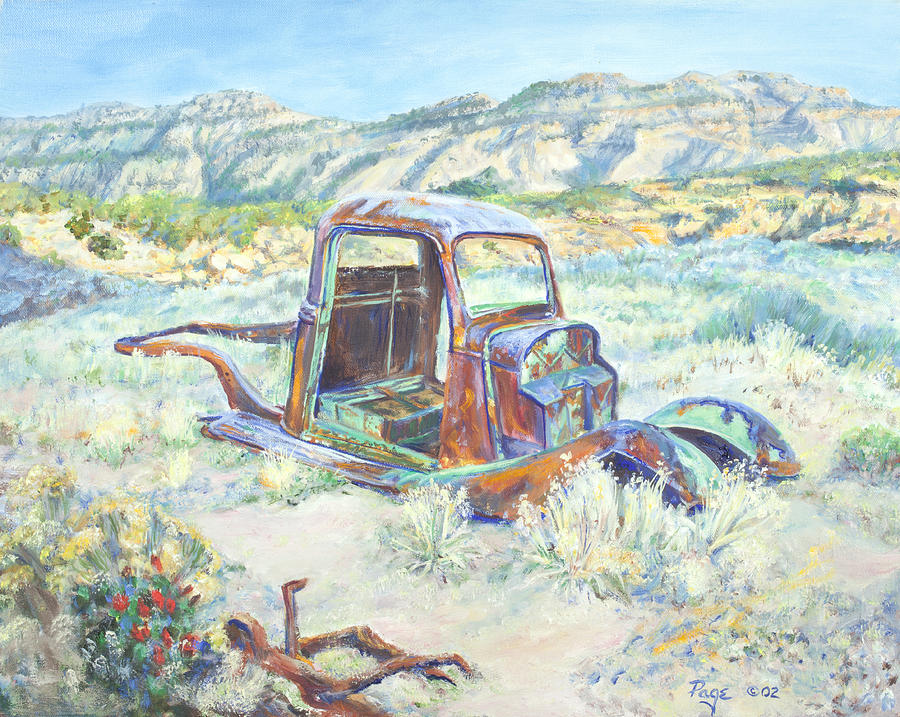Crescent Canyon Relic by Page Holland