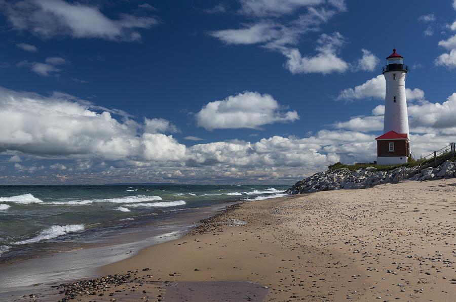Crisp Point Lighthouse 1 Photograph