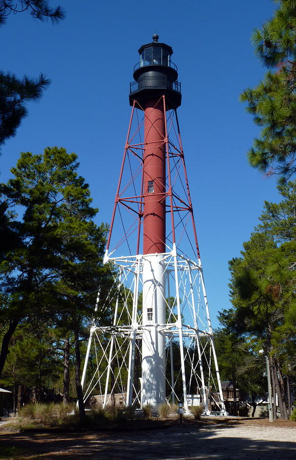 Lighthouse Photograph - Crooked River Lighthouse by Carla Parris