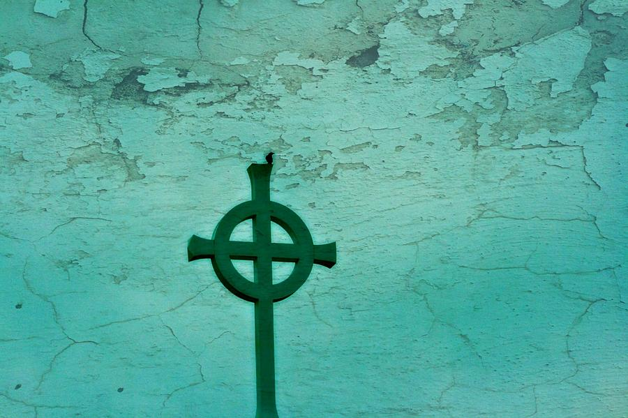 Statuary Photograph - Cross by Debbie Sikes