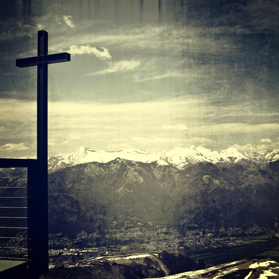 Cross Photograph - Cross In The Sky by Joana Kruse
