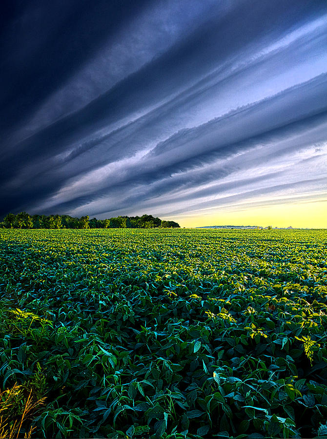 Horizons Photograph - Crossing Over by Phil Koch