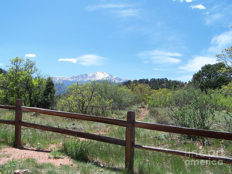 Colorado Photograph - Crossing The Fence by Jack Norton