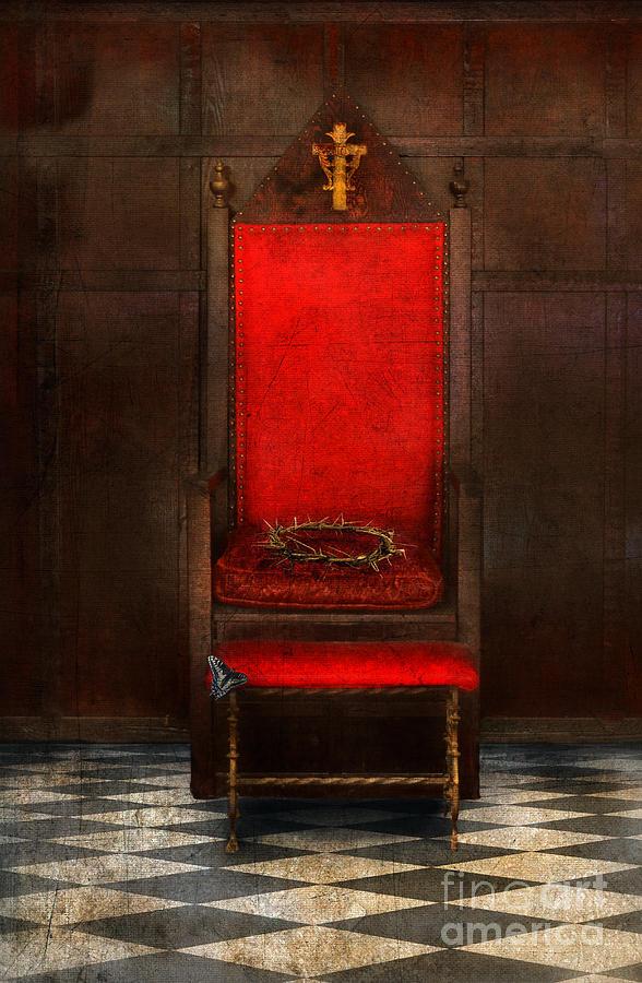 Crown Of Thorns On Throne Photograph By Jill Battaglia
