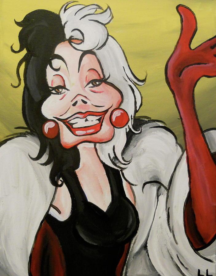 Cruella Painting - Cruella by Lisa Leeman