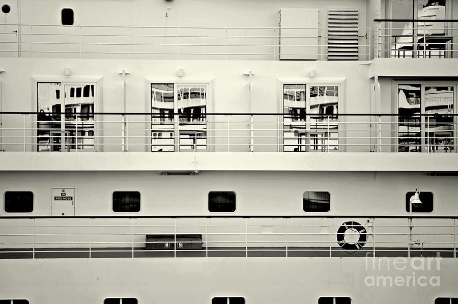 Ship Photograph - Cruise Reflections by Dean Harte
