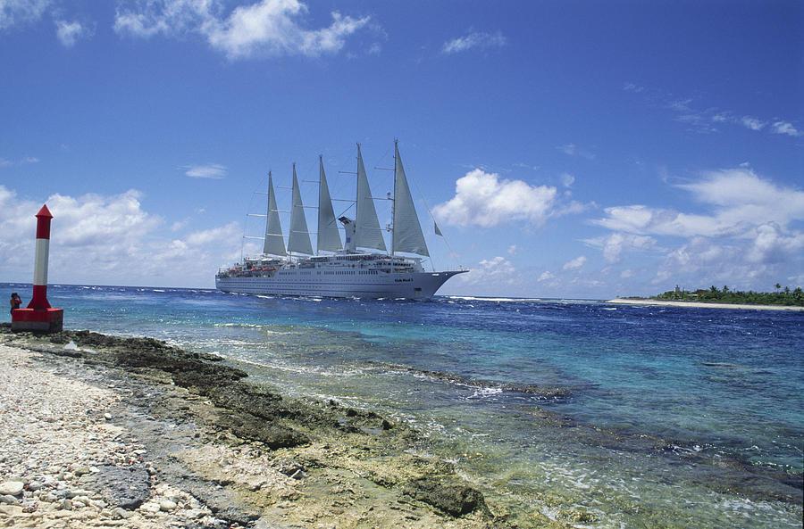 Ship Photograph - Cruise Ship by Alexis Rosenfeld