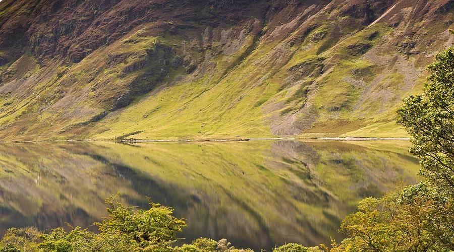 Horizontal Photograph - Crummock Water by All my images are taken in the english lakedistrict