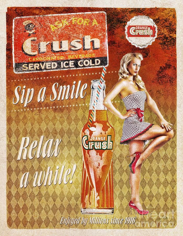 Crush Mixed Media - Crush by Mo T
