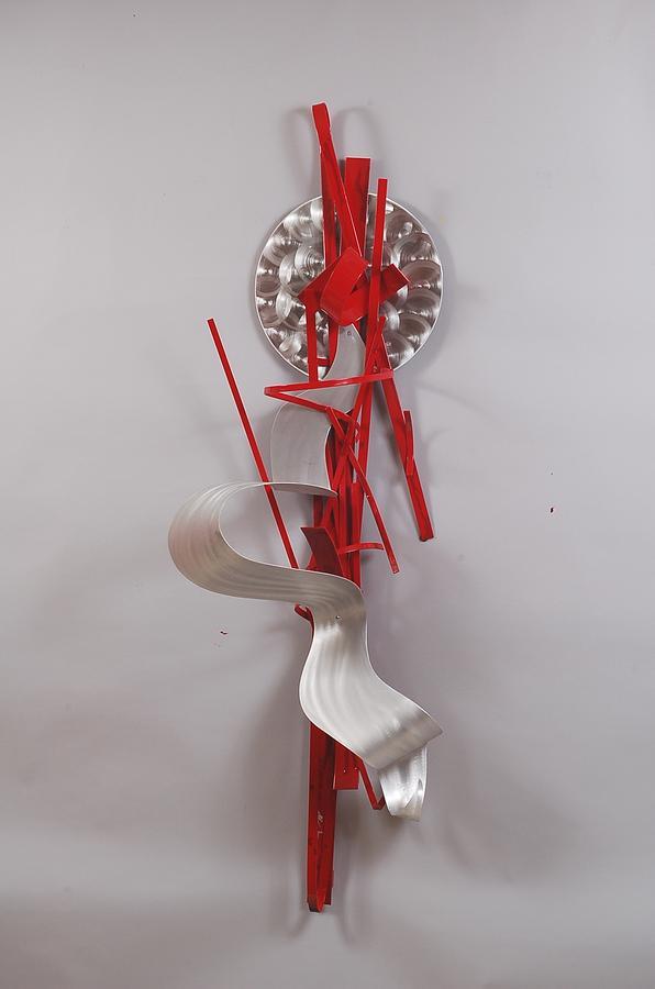 Heart Sculpture - Crusin The Subway by Mac Worthington