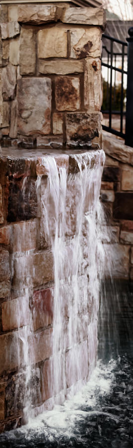 Background Photograph - Crying Waterfall by Kelly Rader