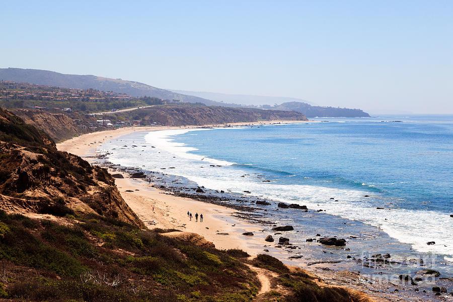 America Photograph - Crystal Cove Orange County California by Paul Velgos
