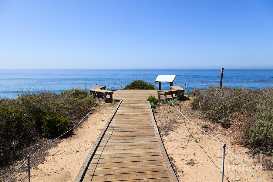 America Photograph - Crystal Cove State Park Ocean Overlook by Paul Velgos