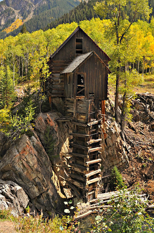 Mill Photograph - Crystal Mill 6 by Marty Koch