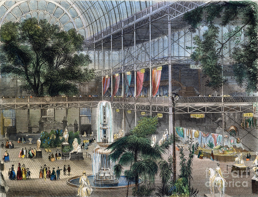 1851 Photograph - Crystal Palace by Granger