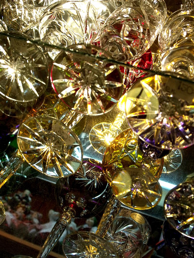 Glass Photograph - Crystal Rainbow by Lee Versluis