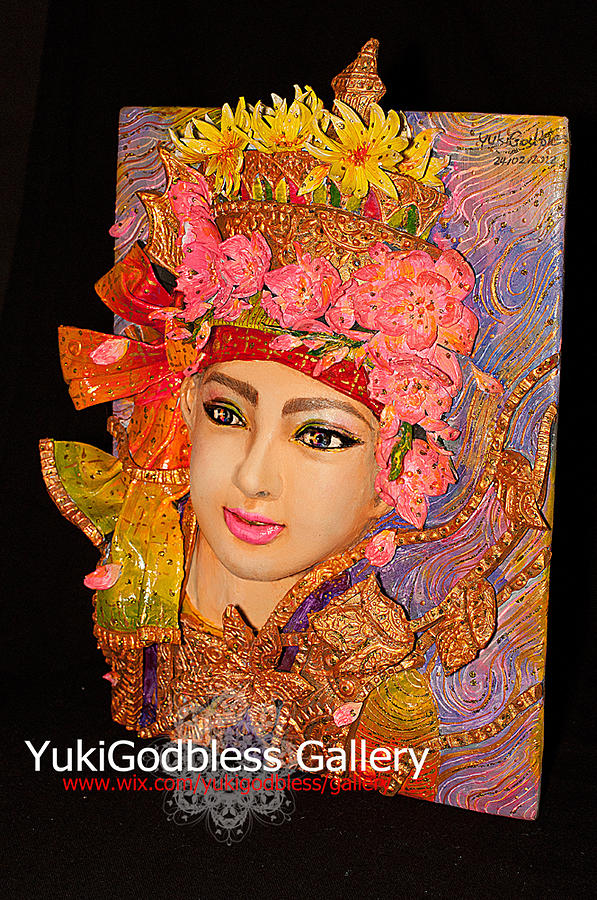 Acrylic Painting - Crystal Son by YukiGodbless