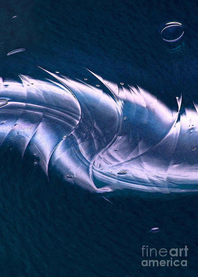 Crystal Digital Art - Crystalline Entity Panel 2 by Peter Piatt