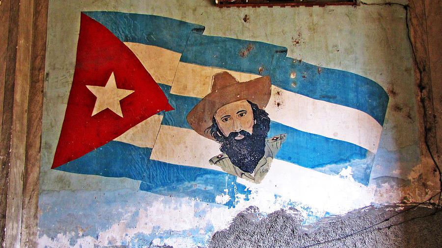 Cuba Photograph - Cuban Flag by Kimberley Bennett