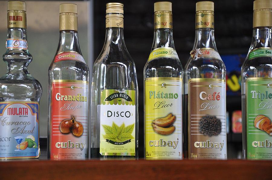 Different Alcohol Spirits