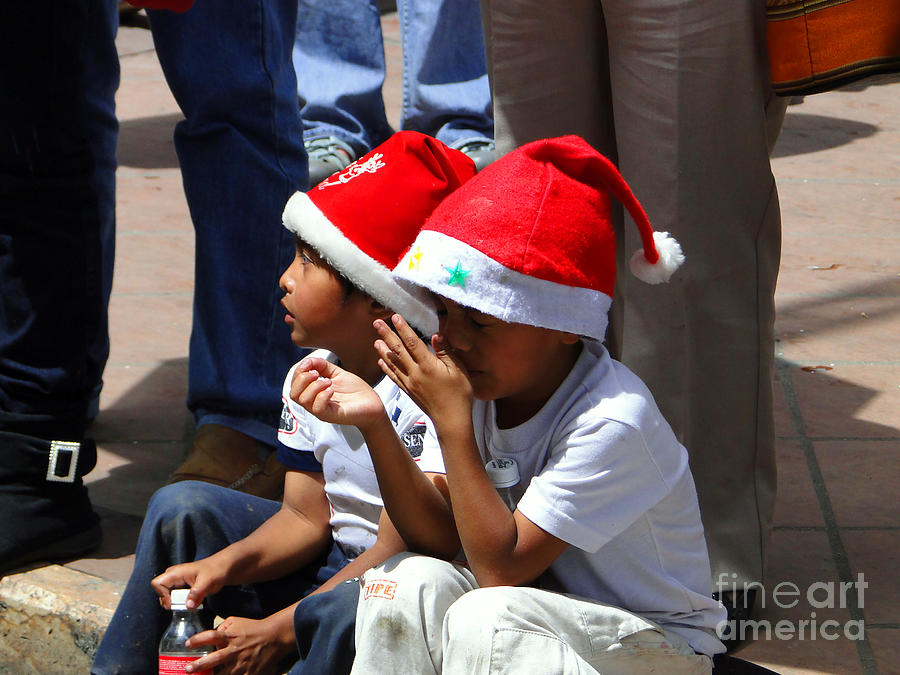 Al Bourassa Photograph - Cuenca Kids 135 by Al Bourassa