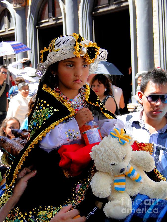 Al Bourassa Photograph - Cuenca Kids 188 by Al Bourassa