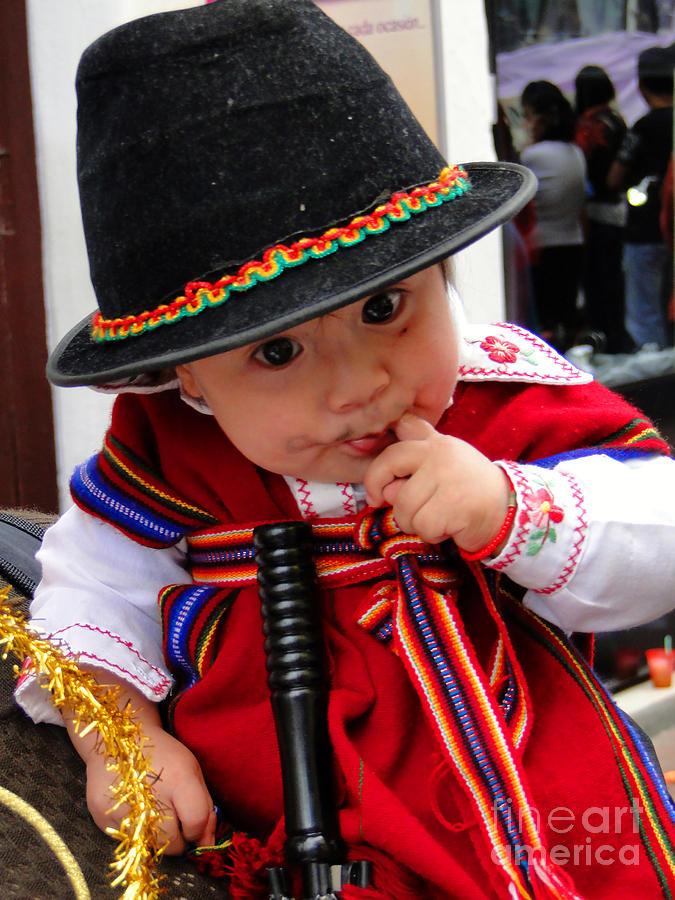 Okotoks Photograph - Cuenca Kids 19 by Al Bourassa