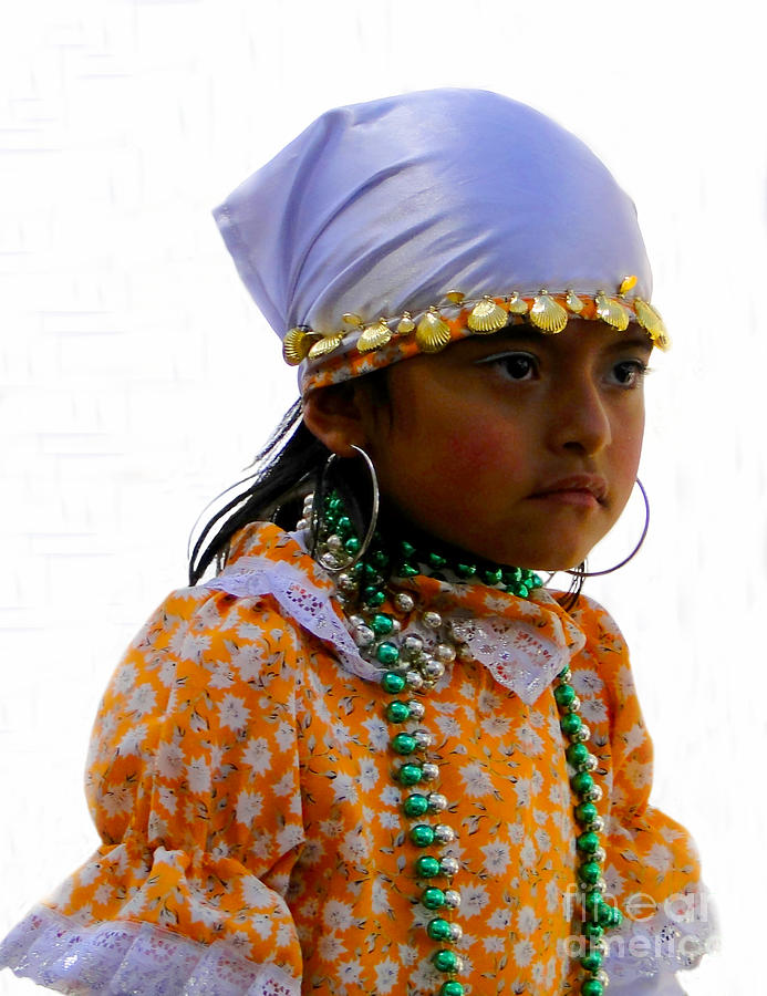 Kids Photograph - Cuenca Kids 199 by Al Bourassa