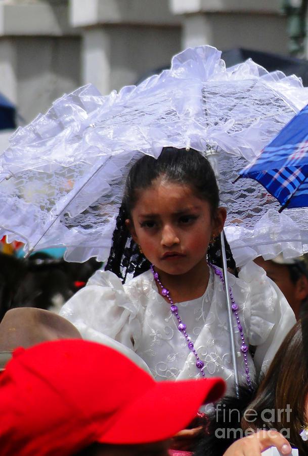 Al Bourassa Photograph - Cuenca Kids 51 by Al Bourassa