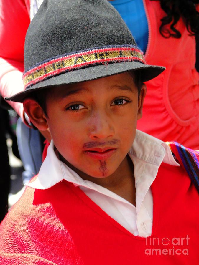 Okotoks Photograph - Cuenca Kids 57 by Al Bourassa