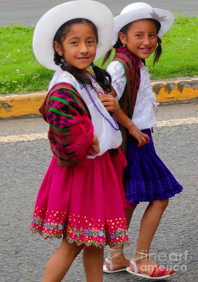 Al Bourassa Photograph - Cuenca Kids 58 by Al Bourassa