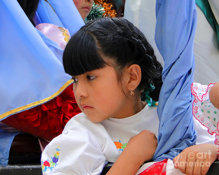 Al Bourassa Photograph - Cuenca Kids 73 by Al Bourassa