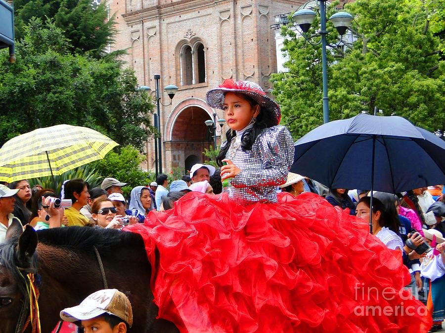 Al Bourassa Photograph - Cuenca Kids 84 by Al Bourassa