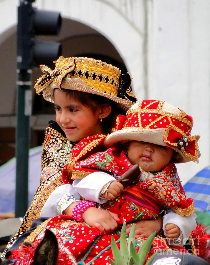 Al Bourassa Photograph - Cuenca Kids 88 by Al Bourassa
