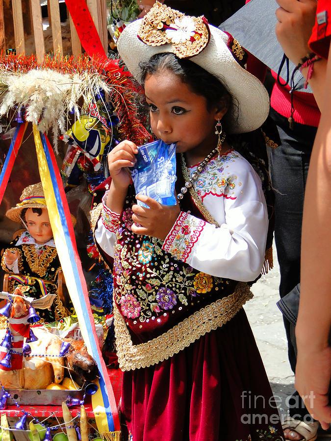 Al Bourassa Photograph - Cuenca Kids 97 by Al Bourassa
