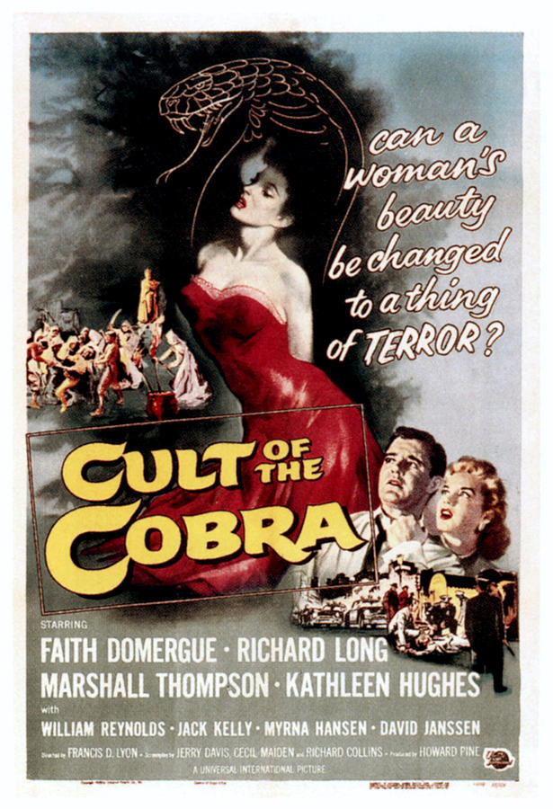 1950s Poster Art Photograph - Cult Of The Cobra, Marshall Thompson by Everett