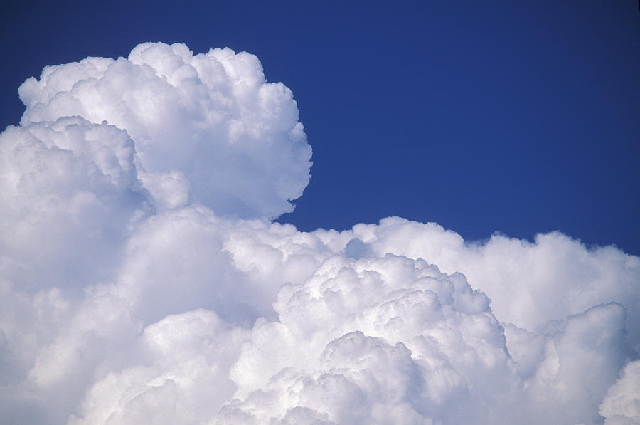 cumuluo nimbus clouds photograph by kaj r svensson