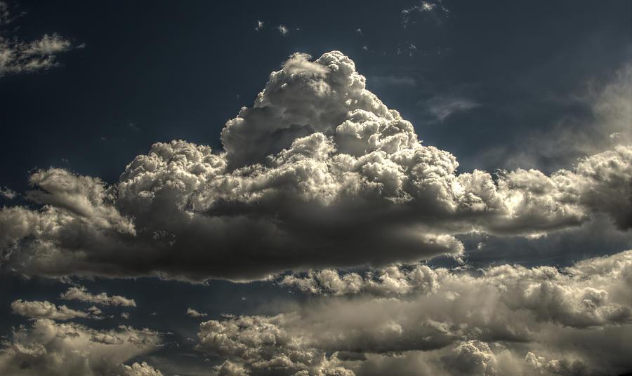 Cumulus Nimbus 1 Photograph by John Brink