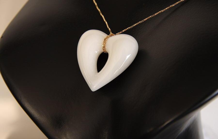 Monica Bellucci Jewelry - Cuore Bianco by Emanuele Rubini