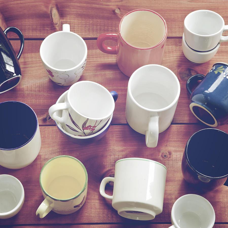 Cup Photograph - Cups by Joana Kruse
