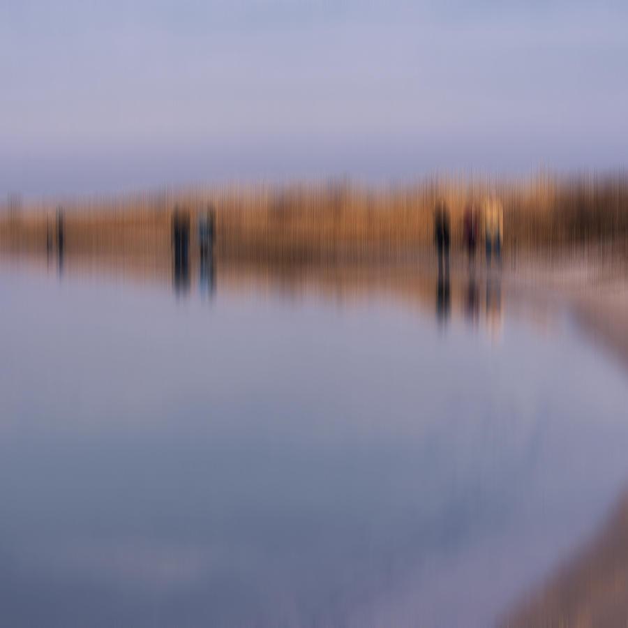 Impressionist Photograph - Cupsogue Beach I by Bob Retnauer