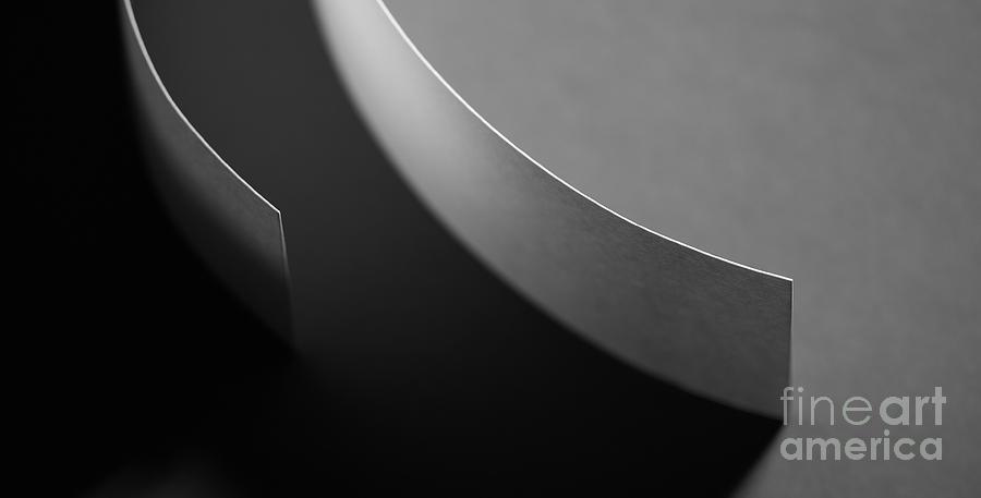 Paper Photograph - Curved by Gabriela Insuratelu