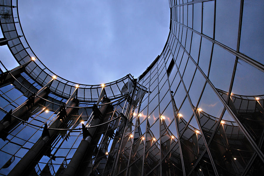 Architecture Photograph - Curves by Milica Ljevaja Stojanovic